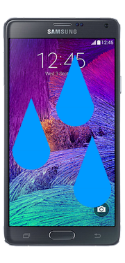 Samsung Galaxy Note 4 Liquid Damage Repair