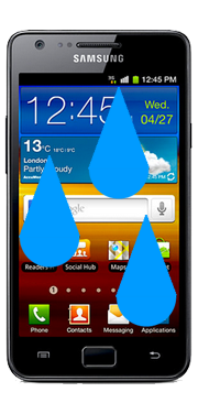 Samsung Galaxy S2 Liquid Damage Repair