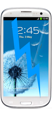 Samsung Galaxy S3 Front Glass Repair (Glass only)