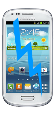 Samsung Galaxy S3 Mini Front Glass Repair (Glass only)