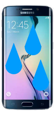 Samsung Galaxy S6 Edge Liquid Damage Repair
