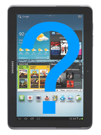 "Samsung Galaxy Tab 2 10.1"" Full Diagnostic Service"