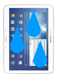 "Samsung Galaxy Tab 3 10.1"" Liquid Damage Repair"