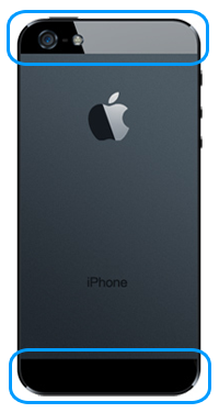 Apple iPhone 5S Rear Glass Repair