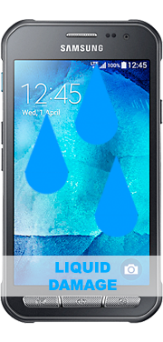Samsung Galaxy Xcover 3 Liquid Damage Repair