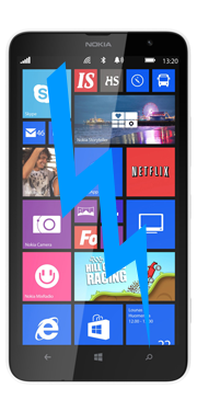 Nokia / Microsoft Lumia 1320 Screen Repair (LCD & Glass)