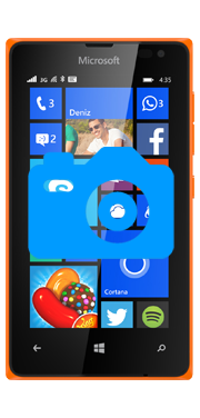 Nokia / Microsoft Lumia 435 Front Camera Repair