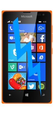 Nokia / Microsoft Lumia 435 Front Glass Repair (Glass Only)