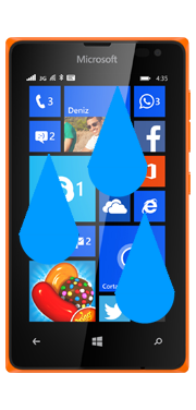 Nokia / Microsoft Lumia 435 Liquid Damage Repair