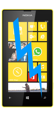 Nokia / Microsoft Lumia 520 Front Glass Repair (Glass Only)