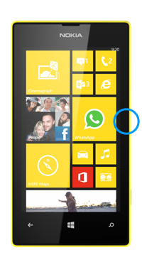 Nokia / Microsoft Lumia 520 Power Button Repair