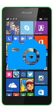 Nokia / Microsoft Lumia 535 Front Camera Repair