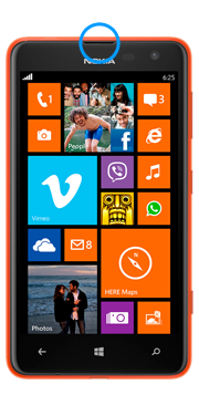 Nokia / Microsoft Lumia 625 Earpiece Repair