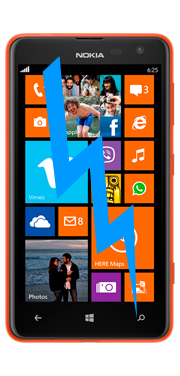 Nokia / Microsoft Lumia 625 Front Glass Repair (Glass Only)