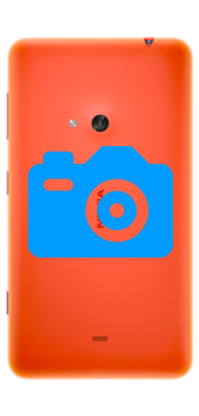 Nokia / Microsoft Lumia 625 Rear Camera Repair