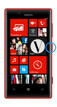 Nokia / Microsoft Lumia 720 Power Button Repair