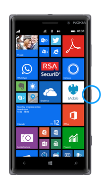 Nokia / Microsoft Lumia 830 Power Button Repair