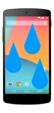 Google Nexus 5 Liquid Damage Repair