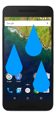 Google Nexus 6P Liquid Damage Repair