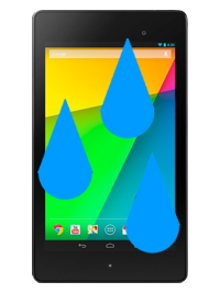 Google Nexus 7 (2nd Gen) Liquid Damage Repair