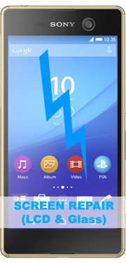 Sony Xperia M5 Screen Repair (LCD & Glass)