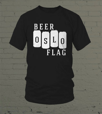 Beer Flag - T-skjorte