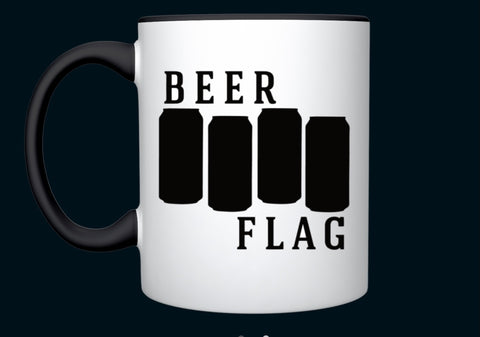 Beer Flag - Kaffekopp