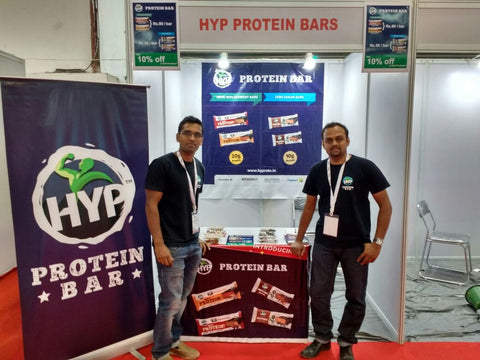 hyp protein bars at fitex power event