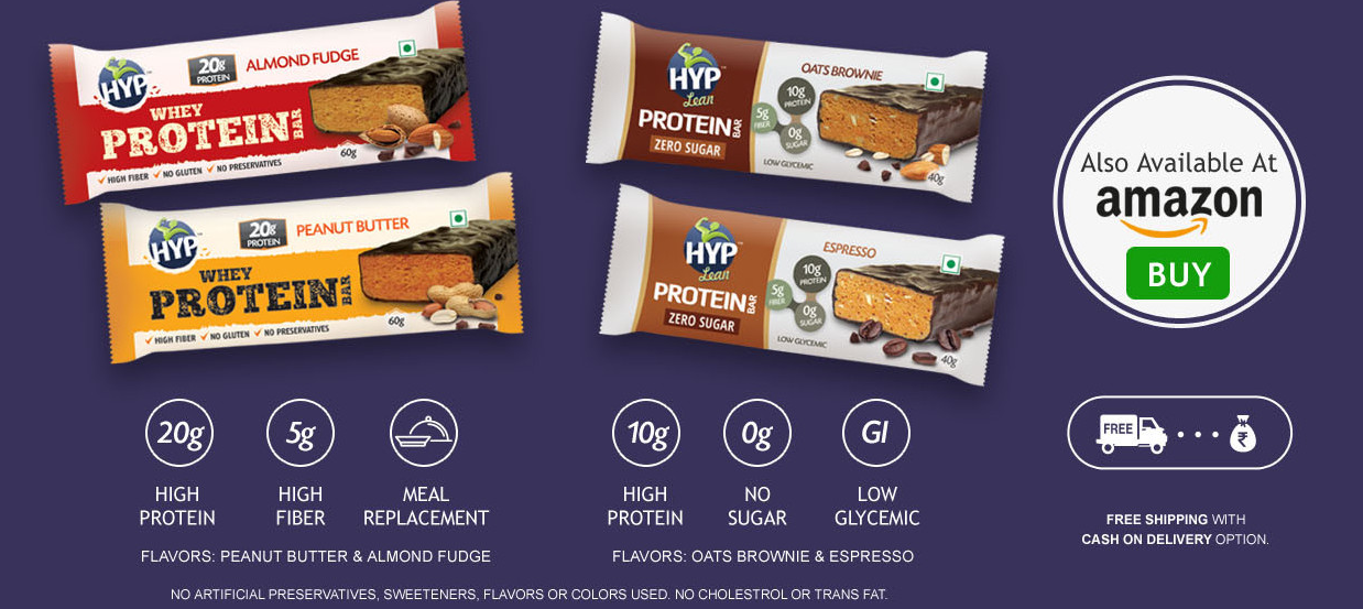 HYP Protein Bars - HYPROTE.IN