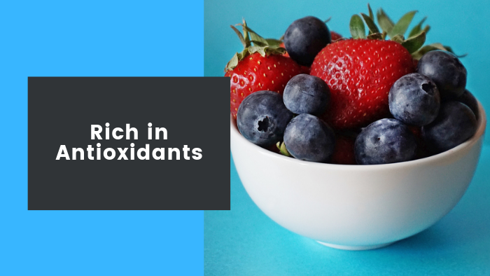 Berries Rich in antioxidants