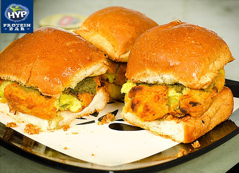 Know Your Calories Vada Pav Hyprotein