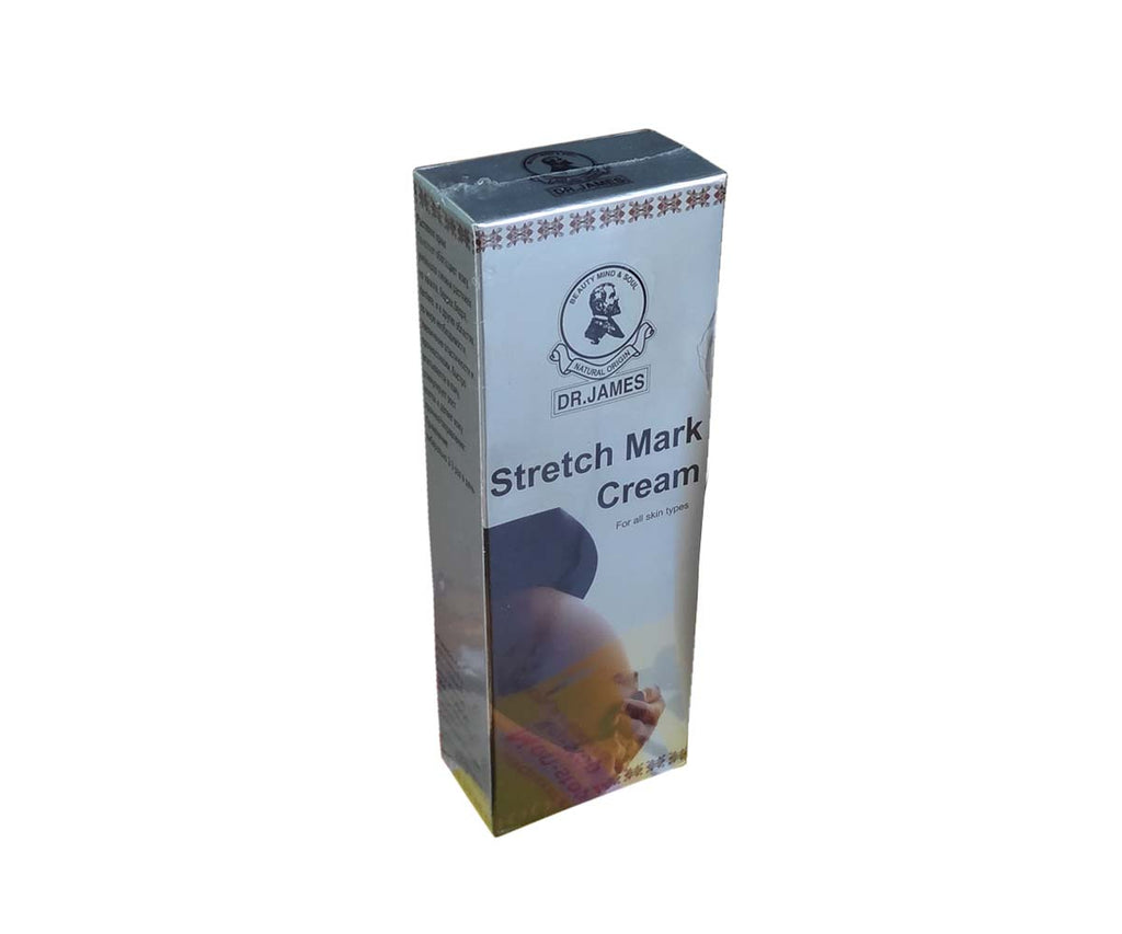 Dr James Natural Herbal Stretch Marks Cream Permanently