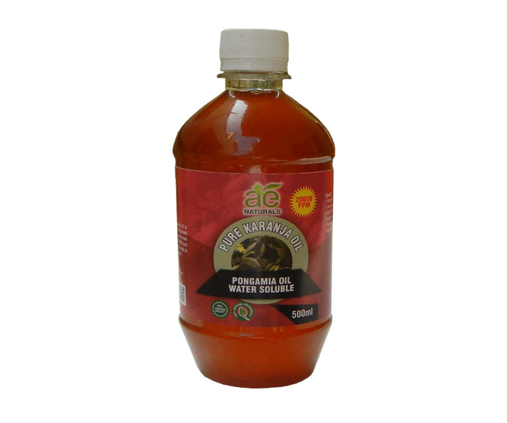 AE NATURALS Pure Karanja, Pongamia Oil Water Soluble 500ml