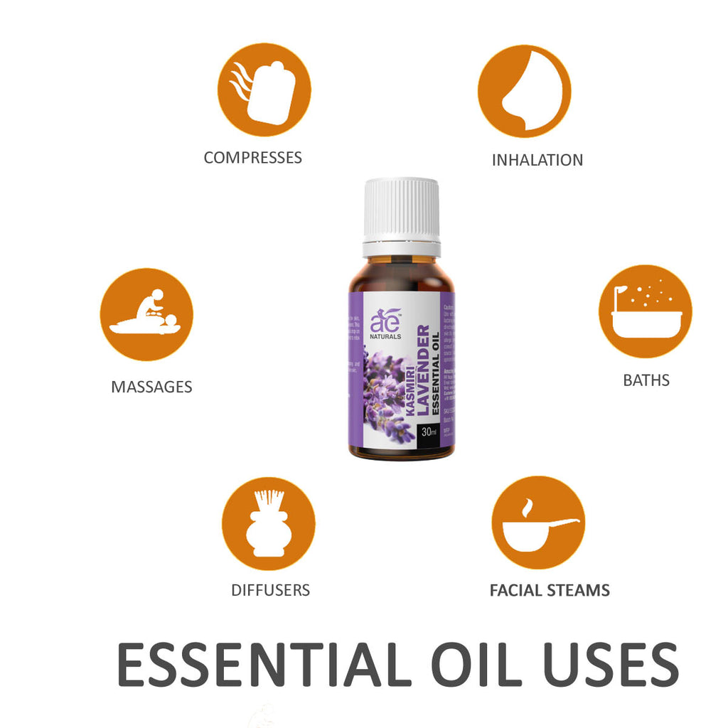 AE Naturals Kasmiri Lavender Essential Oil 30ml