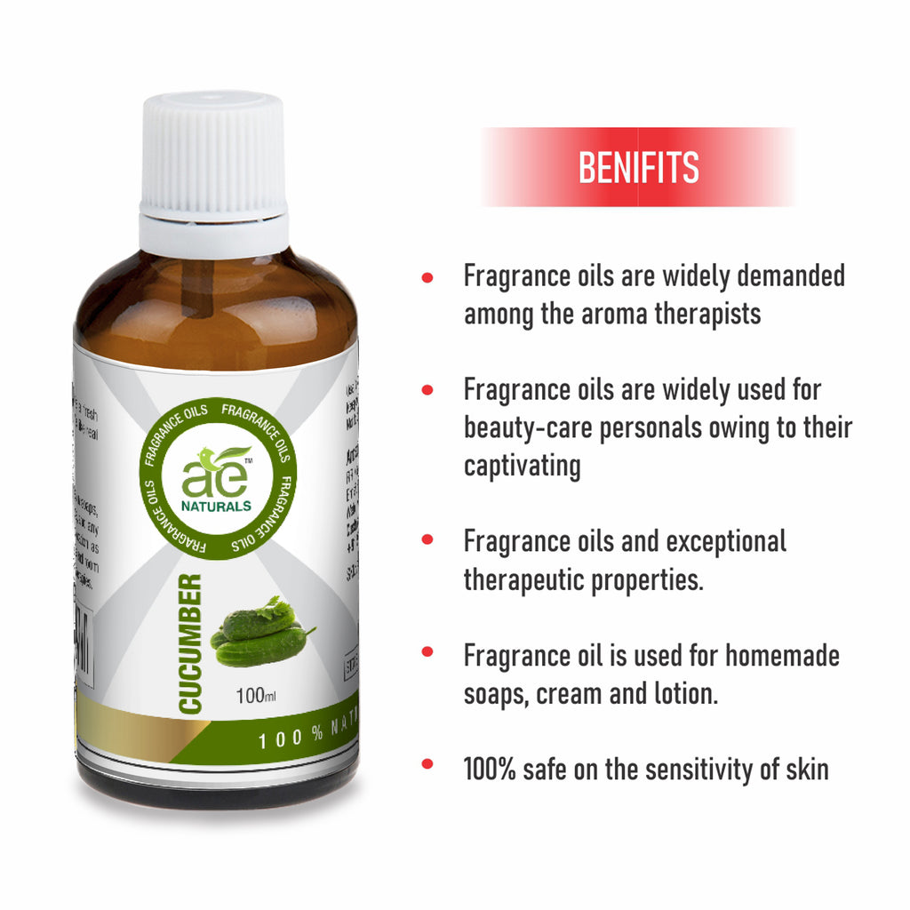 AE Naturals Cucumber Fragrance Oil 100ml