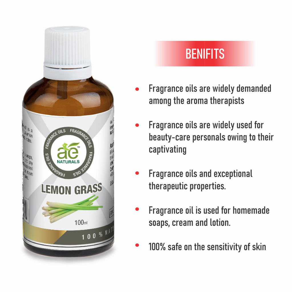 AE Naturals Lemon grass Fragrance Oil  100ml