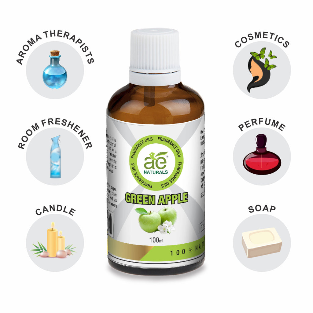 AE Naturals Green Apple Fragrance Oil  100ml
