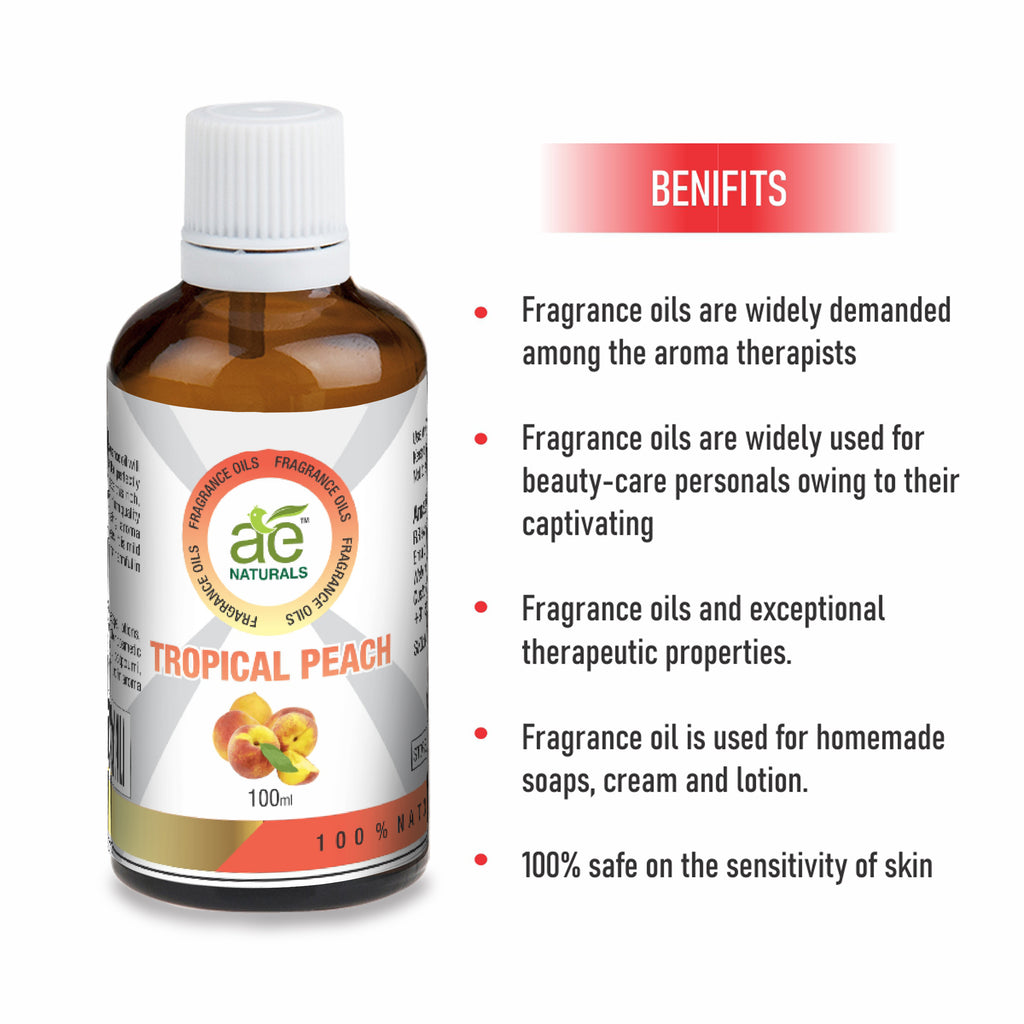 AE Naturals Tropical Peach Fragrance Oil 100ml