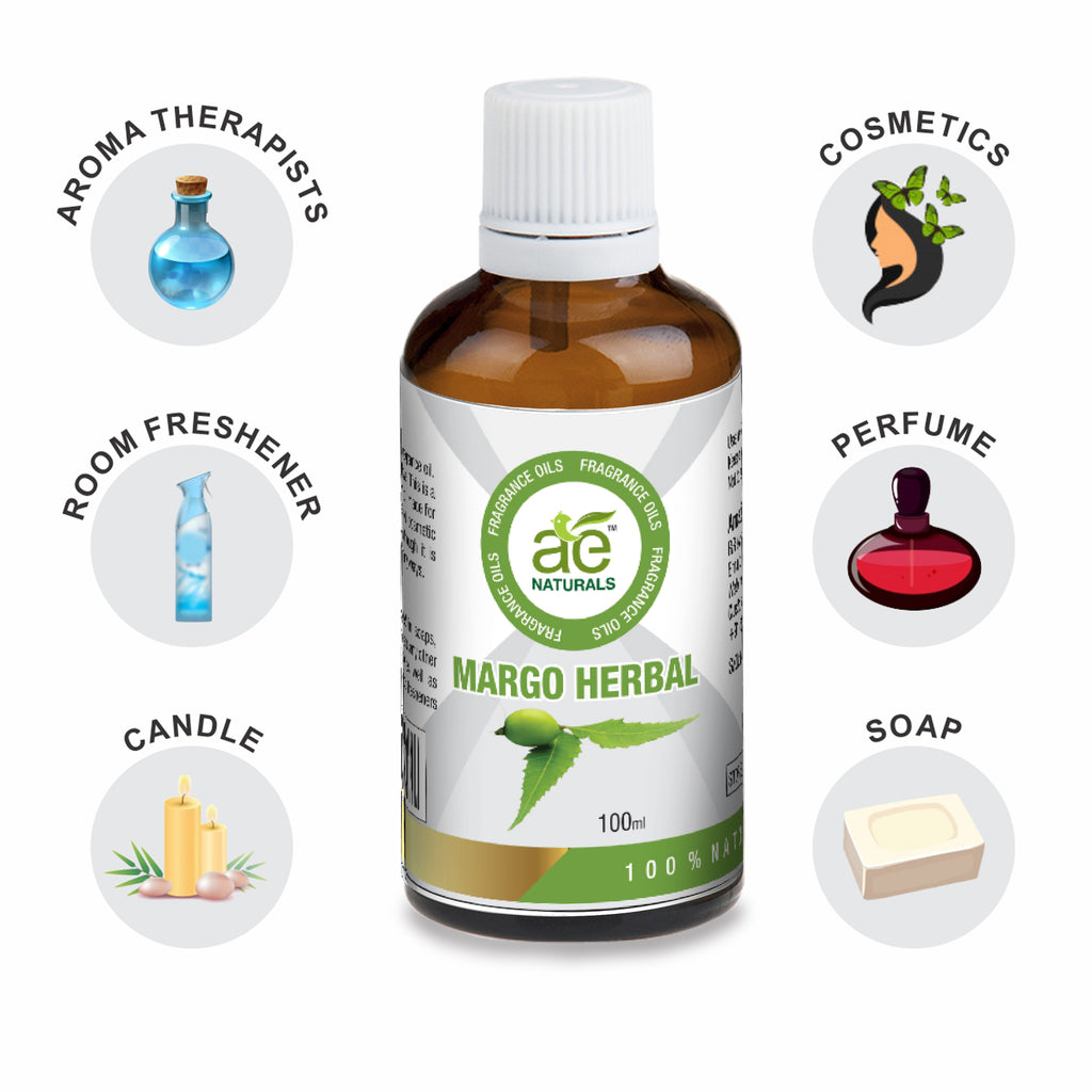 AE Naturals Margo Herbal Fragrance Oil  100ml