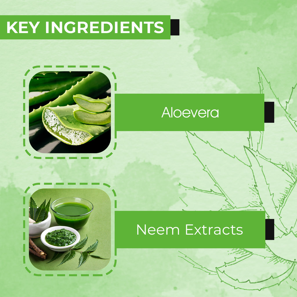 AE Naturals Pure Aloevera Gel With Neem Extracts 200ml