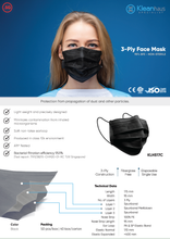 Load image into Gallery viewer, [KLH517C] 3-Ply Face Mask | 95.9% BFE - 50 Pcs/Box