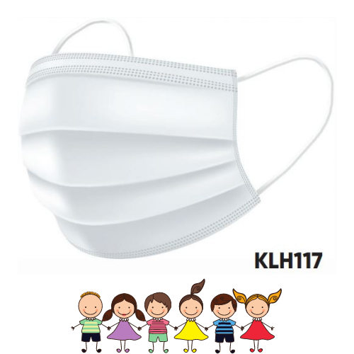 [KLH117] 3-Ply Children's Face Mask - 50 Pcs/Box