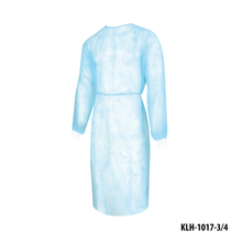 Load image into Gallery viewer, [KLH1017-3/4] Isolation Gown Full Back With Knitted Cuff - 10 Pcs/Bag
