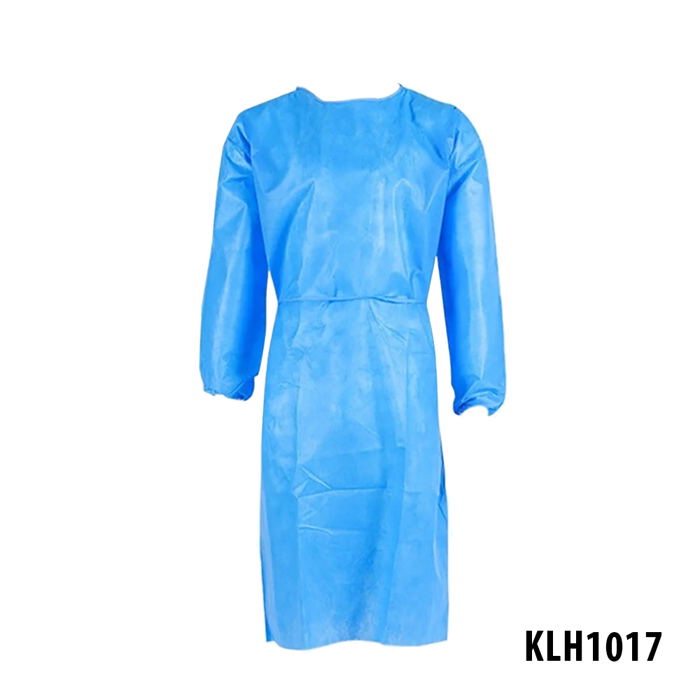 [KLH1017] Isolation Gown With Cuff - 10 Pcs/Bag