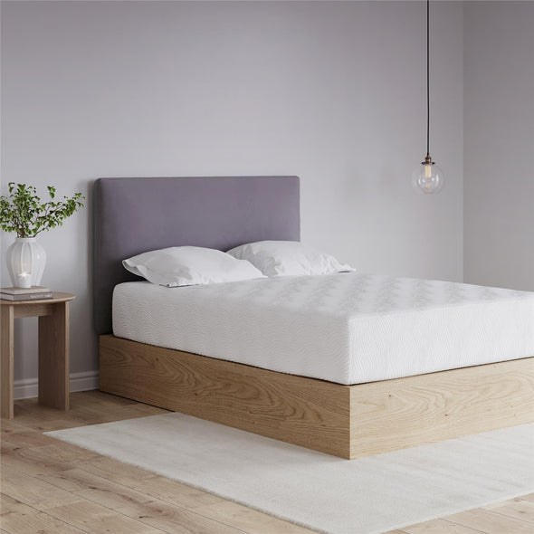 Memoir 12 Inch Memory Foam Mattress - White - Queen