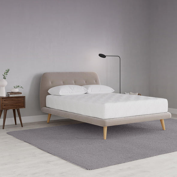 Gold Inspire 10 Inch Memory Foam Mattress - White - Queen