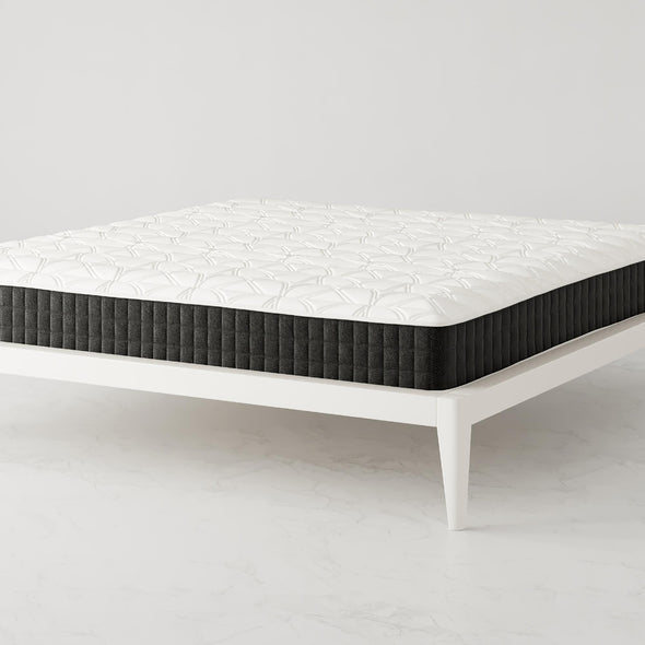 "Signature Sleep Contour Comfort 10"" Independently Encased Coil Mattress - White - King"