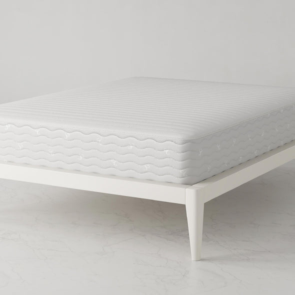 Contour 10 Inch Reversible Independently Encased Coil Mattress - White - Full