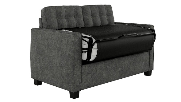 Avery Loveseat Sleeper Sofa with Memory Foam Mattress - Gray - N/A