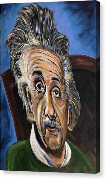 Albert Einstein  - Canvas Print